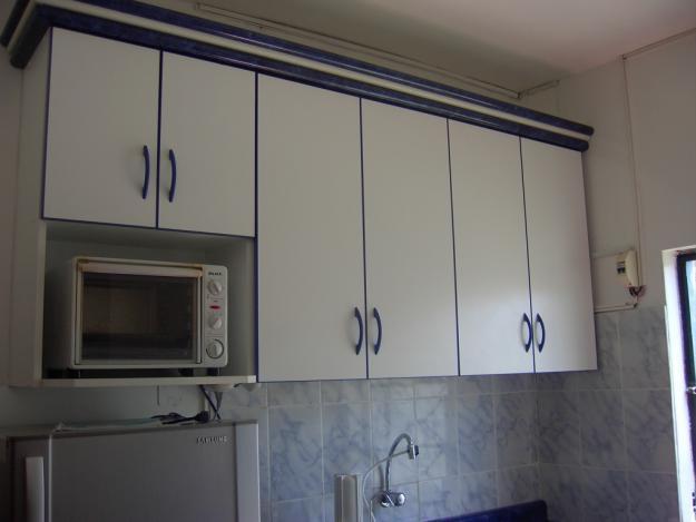 Plano de mueble de melamina proyecto 2 alacena de cocina for Modelos de muebles de cocina altos y bajos