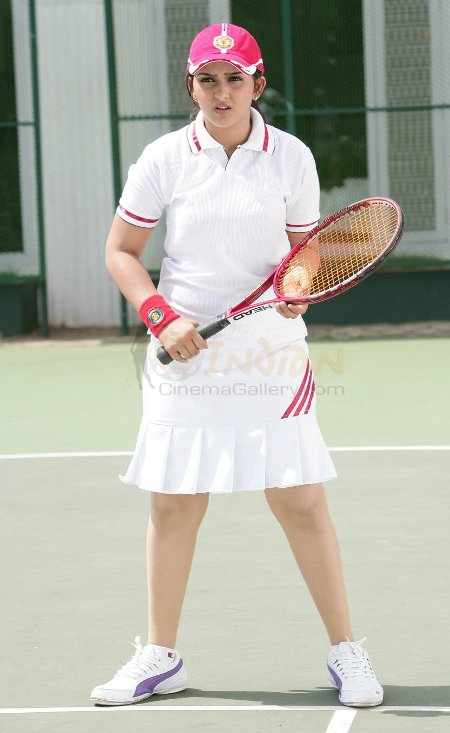 Sanusha - Sanusha Playing Tennis