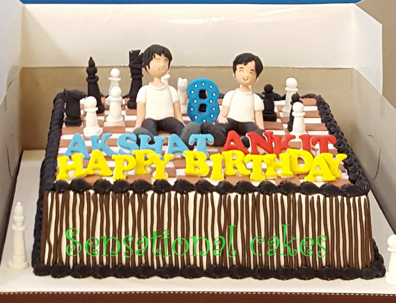 The Sensational Cakes 2 Brothers Chess Piece Magnus Carlsen