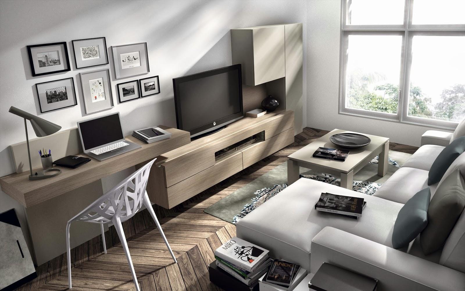 Informaci n de mobiliario opini n de producto colecci n de salones modernos natural de - Muebles para ordenador ...