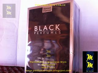 black perfumes xenium