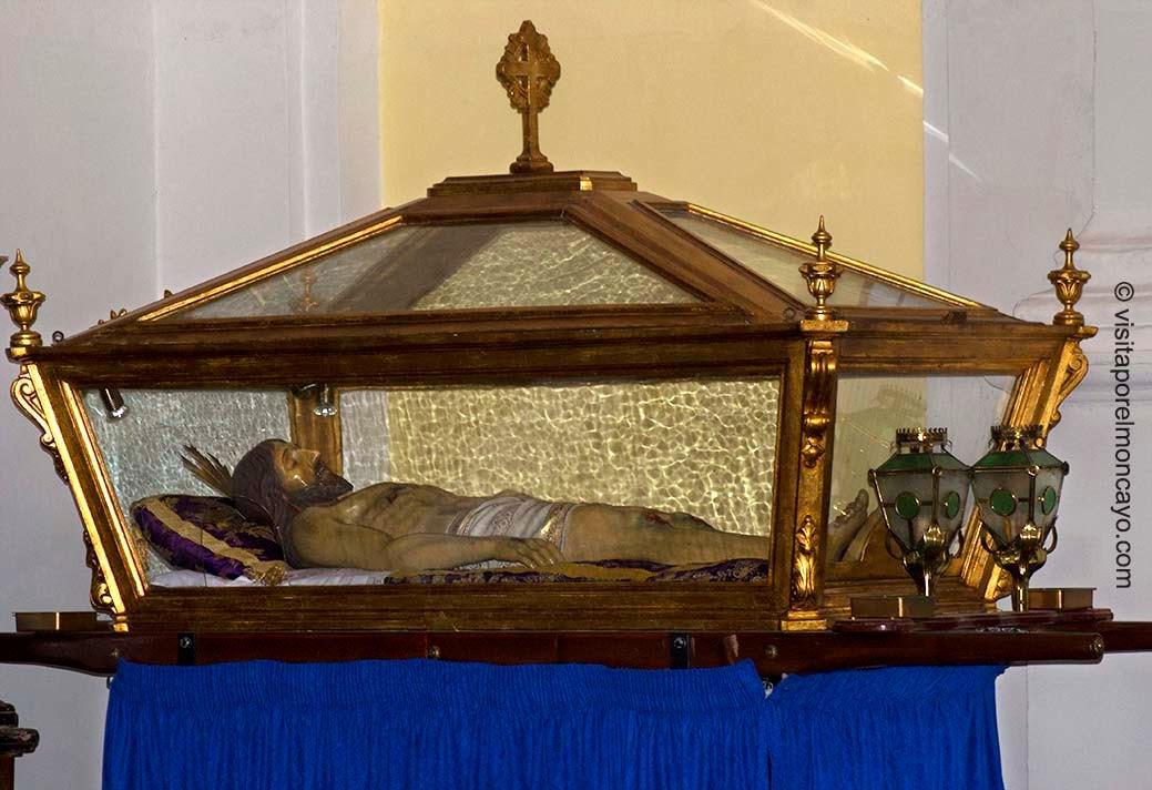 Cristo Yacente Ermita Nuestra Señora Puy Mallen