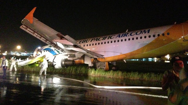 cebu pacific aircraft davao accident The civil aviation authority of the philippines (caap) has suspended two pilots that were involved in a landing accident of an airbus a320 at davao city airport, citing non-compliance with regulations on june 2, 2013 anairbus a320 passenger plane, operated by cebu pacific air sustained damage in a.
