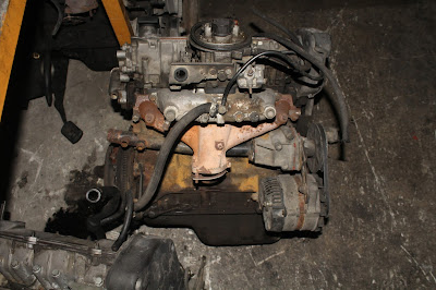 Tofas Fiat SLX motor