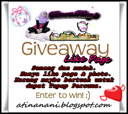 Giveaway Like Page