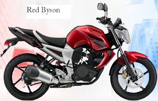 Yamaha Byson Colors Red