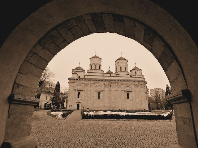 biserica manastirea golia iasi februarie 2013