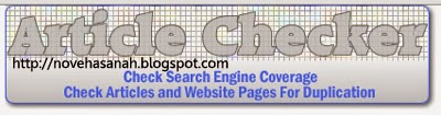 articlechecker situs melacak tukang copas blog