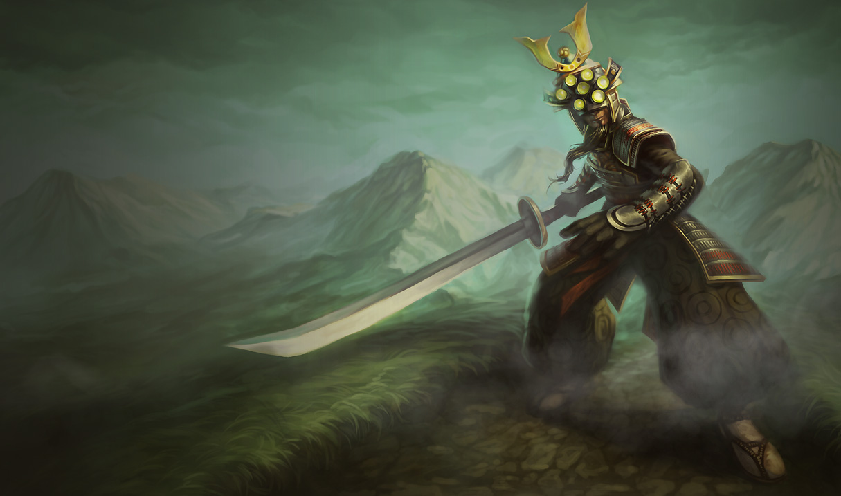 League of Legends: Master Yi Wallpapers (Chinese+American ...