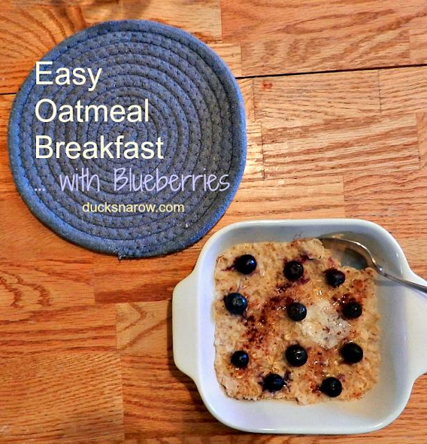 oatmeal, blueberry oatmeal, low carb breakfast recipe, breakfast