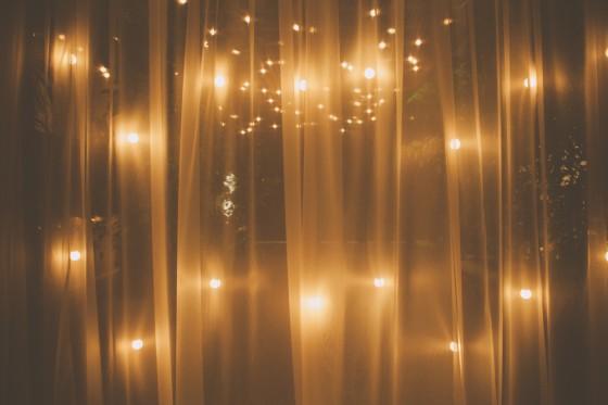 decoracao para lampadas : decoracao para lampadas: cortinas de lâmpadas de pisca-pisca para decorar o seu grande dia