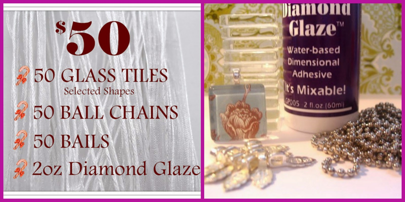 Whos who and whos new mothers day gift idea one of my team mates and i partnered up and purchased this glass tile pendant bundle from candy tiles studio on etsy it had all the supplies that we needed aloadofball Image collections