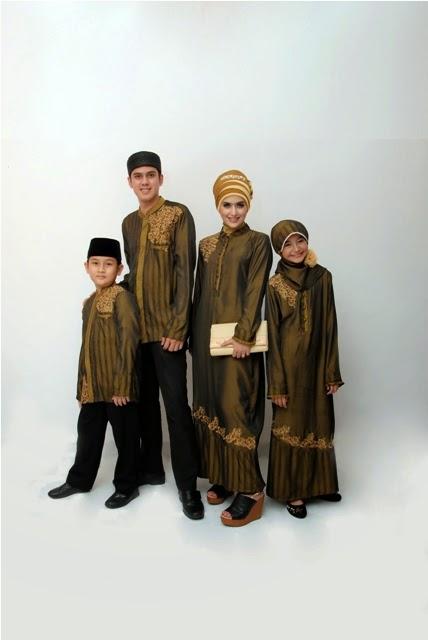 Model baju keluarga untuk lebaran desain terbaru tahun 2015