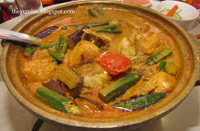 Woo Ng Kee, Restoran, Chinese, Kepong, Taman Ehsan, Fish Head Curry, Claypot Braised Fish Head, best roast duck
