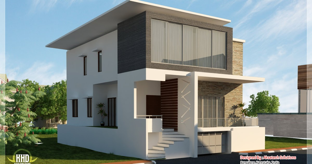 Front Elevation Of 240 Yards House : House plans and design modern elevation
