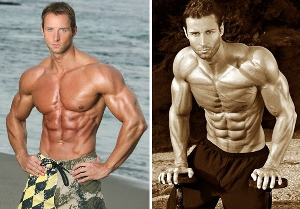 Fitness model workout routine