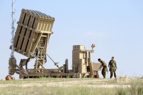 Perisai rudal Iron Dome Israel