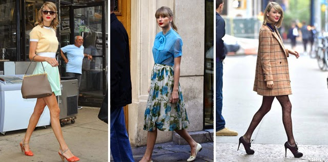 taylor swift dress style
