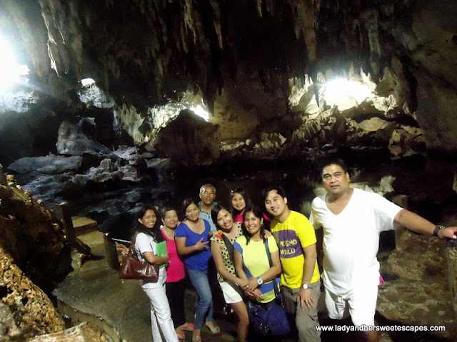 inside Hinagdanan Cave Panglao Bohol