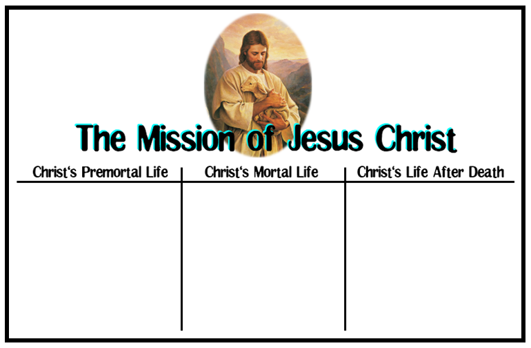 emma u0026 39 s place  the mission of jesus christ