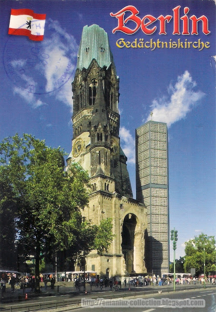 Postcard | Kaiser Wilhelm Memorial Church (Gedächtniskirche)