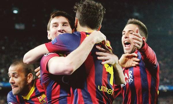 Messi-Celebración