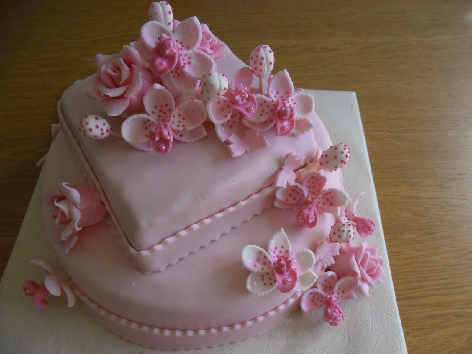 gâteau orchidées  GATEAUX DALINE