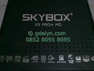 Skybox X5 Pro+ HD,jual receiver,receiver parabola