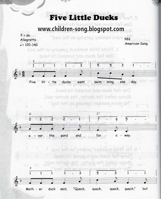 September 2015 Children Song Learn And Practice