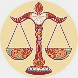 Logo zodiak bintang libra