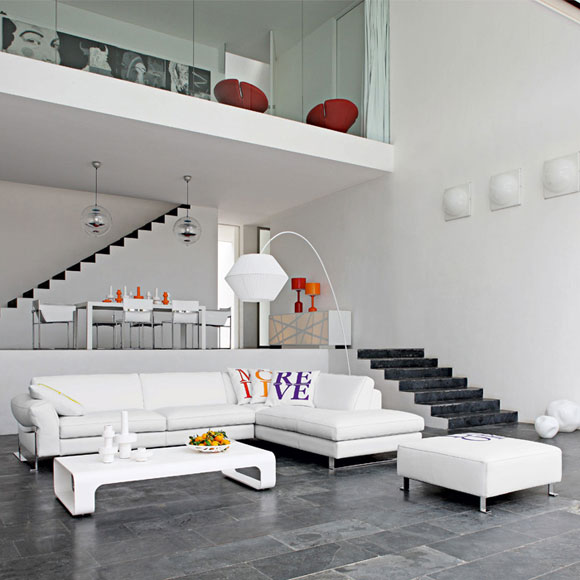 New Home Designs Latest Modern Interior Decoration Living Rooms Ceiling Designs Ideas: AZUL & BLUE: Lofts De Fantasía II