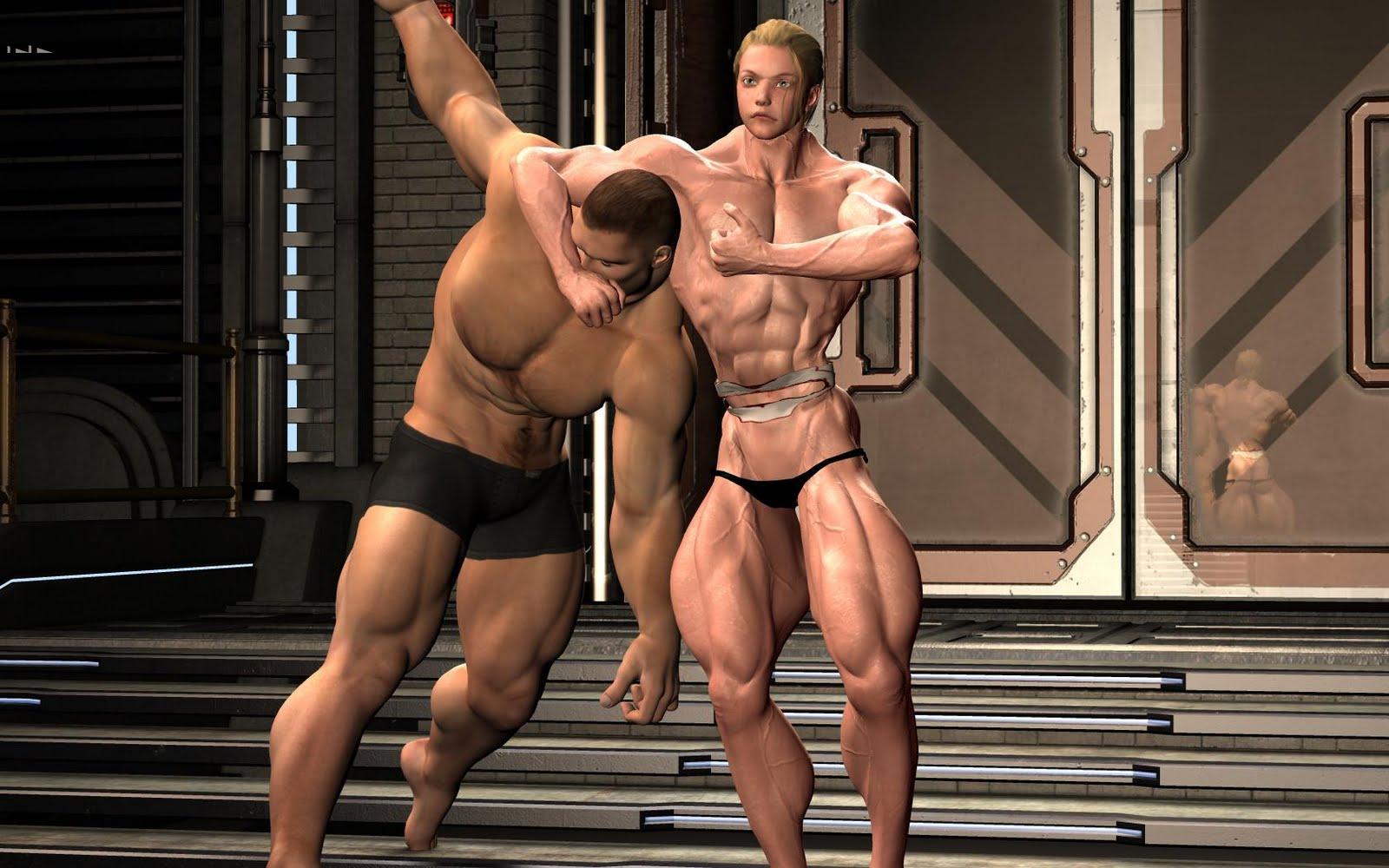 3d muscle girls xxx xxx pictures