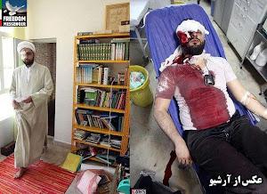 کتک خوردن یک آخوند جنایتکار حکومتی دیگر توسط یک دختر شجاع سمنانی / عکس از ارشیو