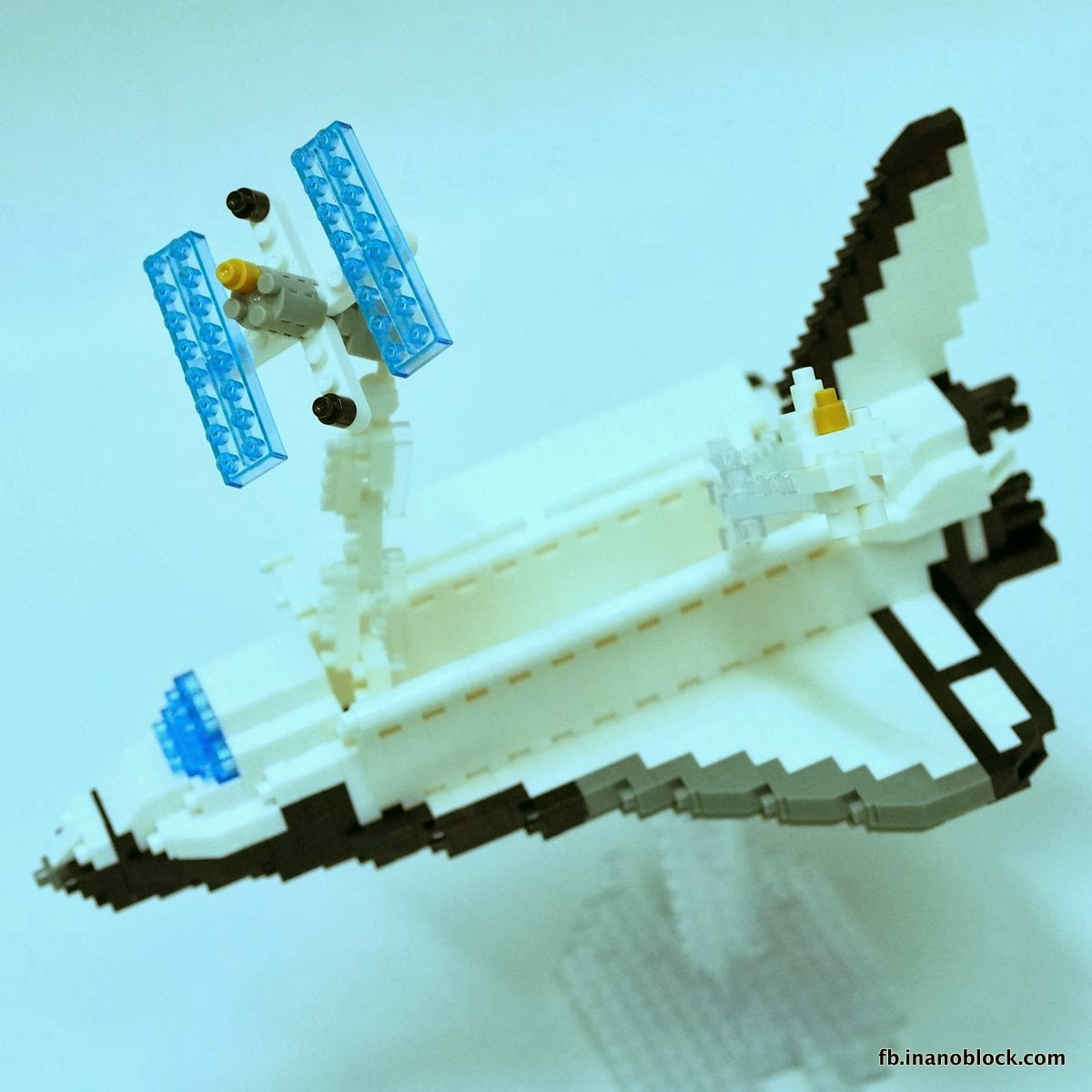 nanoblock space shuttle instructions