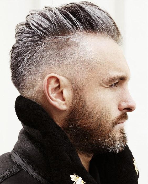 2015 Short Hair Men Beard Styles