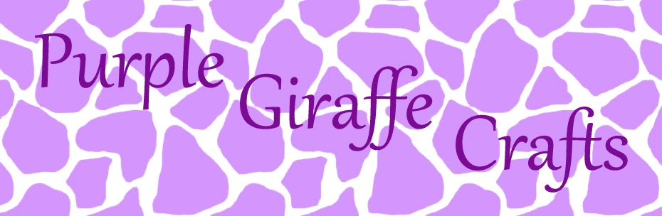 Purple Giraffe Crafts