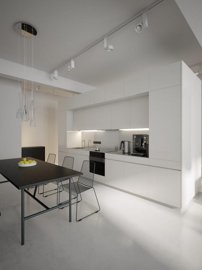 Diseño de interiores & arquitectura: modernos lofts minimalistas ...