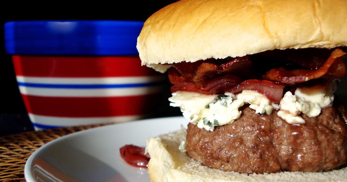 Carrie's Creations: Red White & Blue Burgers