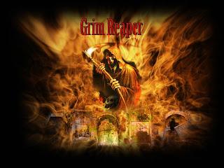 Grim Reaper Dark Gothic Wallpaper