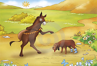 Donkey and Dog story in Tamil