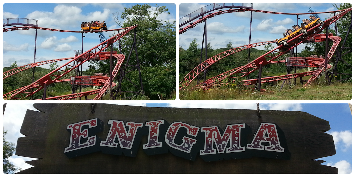Enigma - Pleasurewood Hills, Lowestoft