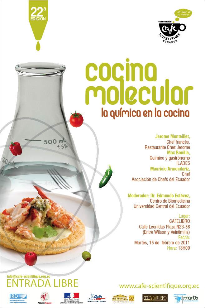 Desarrollo de la cocina molecular for Quien invento la cocina molecular