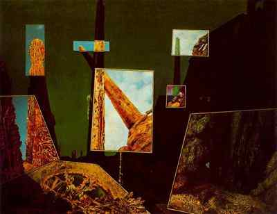 Max Ernst Day and night