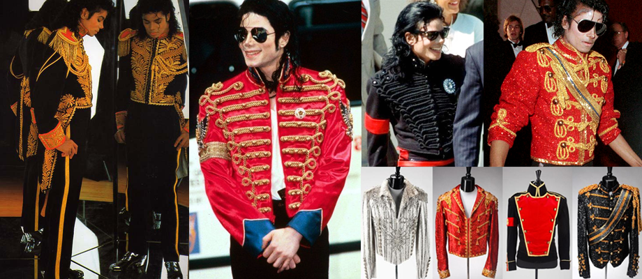 Michael Jackson used Adam Ant's wardrobe as inspiration for the design of his iconic military jackets.