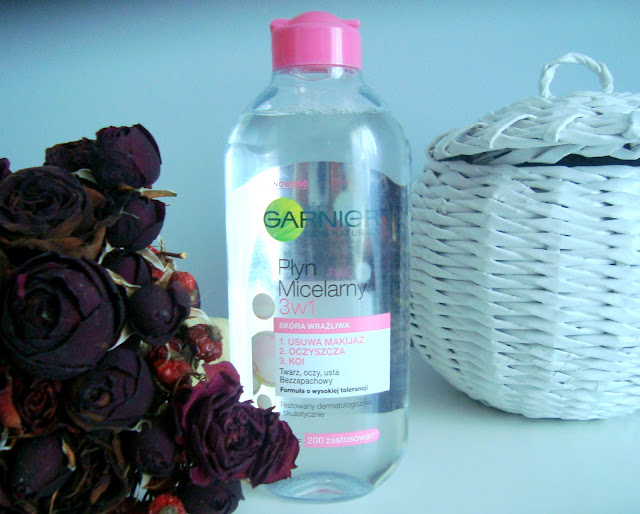 [RECENZJA] Garnier, Skin Naturals, Płyn micelarny 3 w 1 do skóry wrażliwej