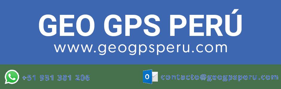 GEO GPS PERÚ