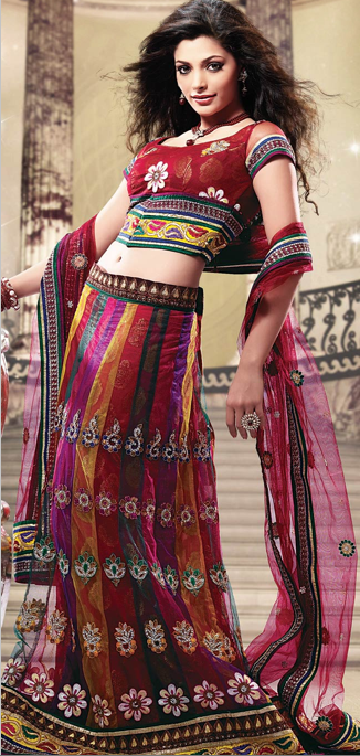 Bridal lehengas: On trend bridal styles | Polychromatic