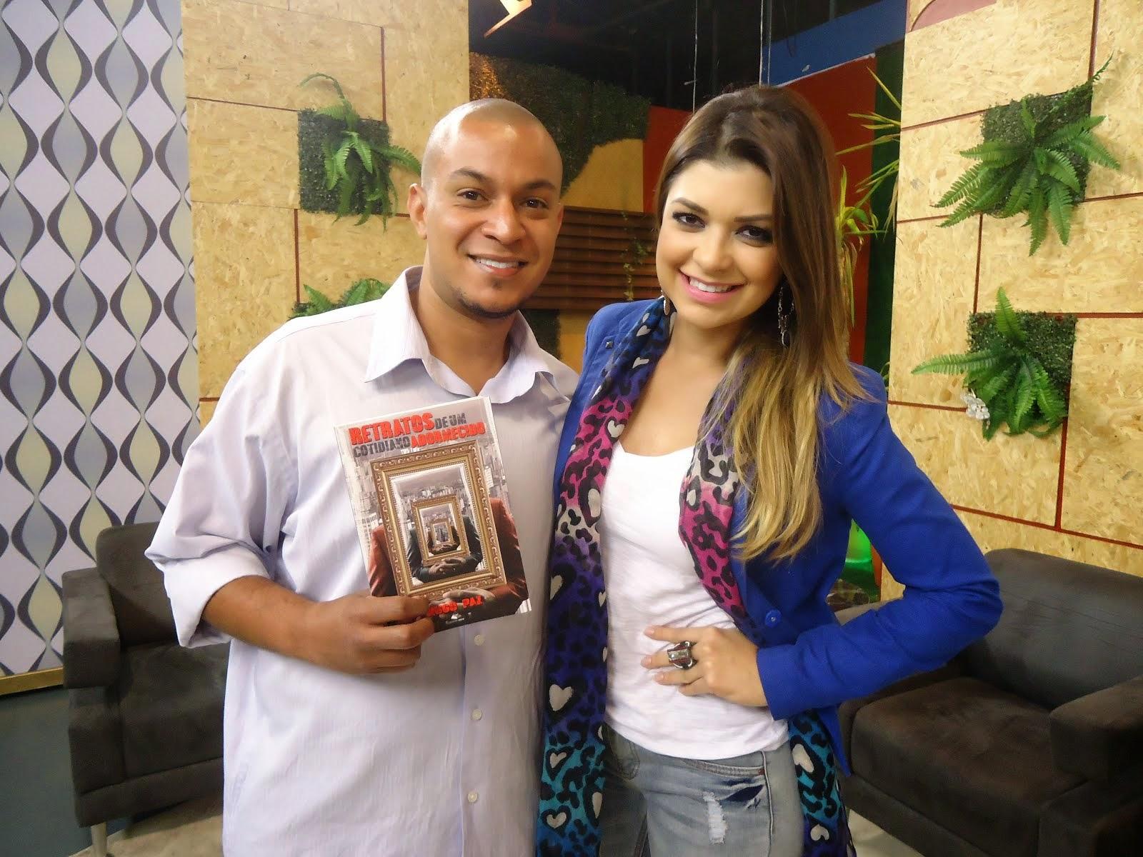 Hugo Paz e Amanda Françozo