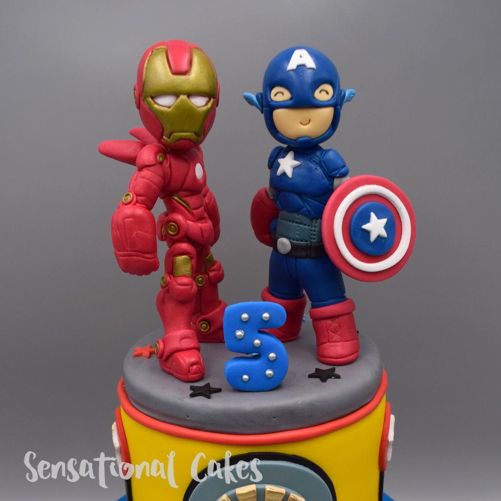 Iron Man Cake Topper Singapore
