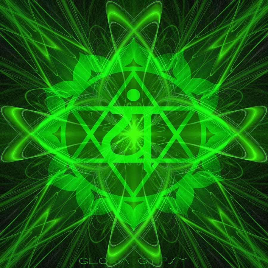 Anahata Heart Chakra by Gloria Gypsy